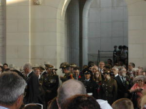 76 Ypres cérémonie