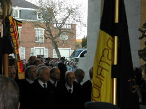 77 Ypres cérémonie